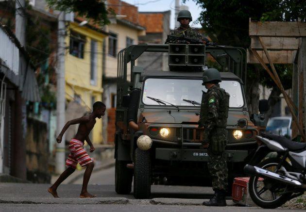 Intervenção federal no Rio de Janeiro.