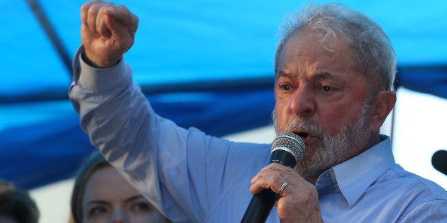 Lula discursa após condenação em segunda instância no caso do triplex do