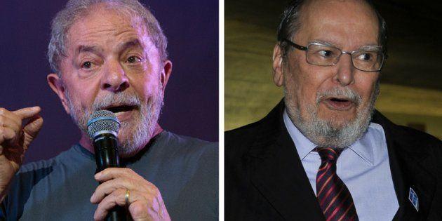 Ex-presidente Luiz Inácio Lula da Silva aposta na habilidade do advogado Sepúlveda Pertence em manter...