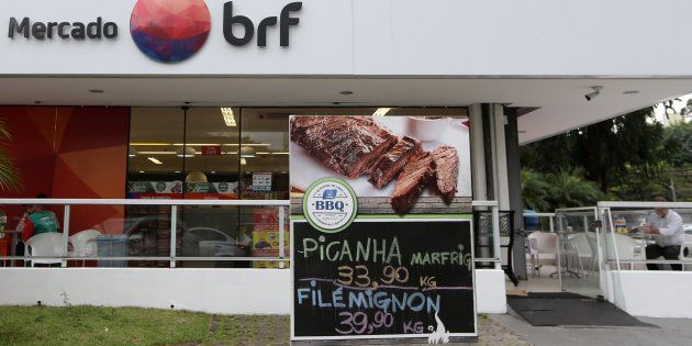 Em nota, a BRF argumenta que ainvestigação da Polícia Federal não trata dealgo que possa causar dano...