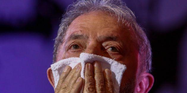 O ex-presidente Luiz Inácio Lula da Silva alega que é perseguido pela