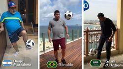 A 100 dias da Copa, Putin bate bola com Ronaldo e ex-craques em vídeo da