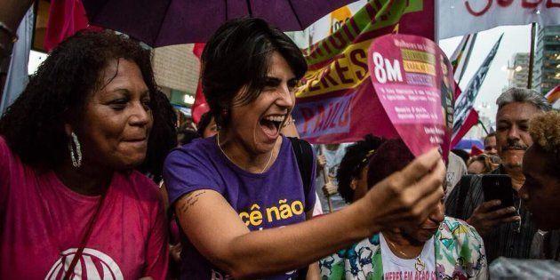 Em campanha presidencial, Manuela D'Ávila inclui direitos das mulheres em seu