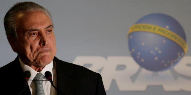 Presidente Michel Temer teve decretada quebra de sigilos bancário e