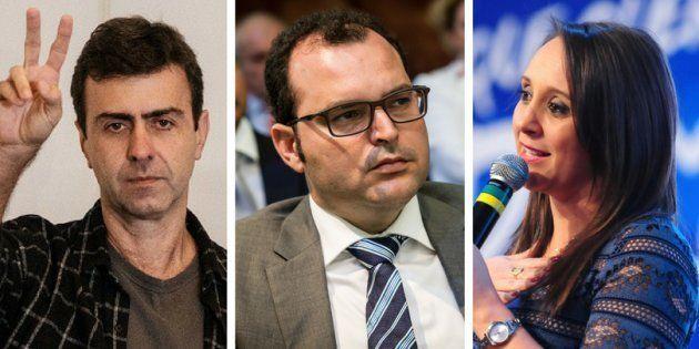 Partidos pequenos diversificam estratégia para atingir cláusula de barreira. Apostas são Marcelo Freixo...