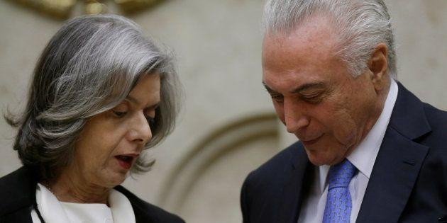 Indulto natalino concedido por Michel Temer foi revogado temporariamente pela presidente do STF, ministra...