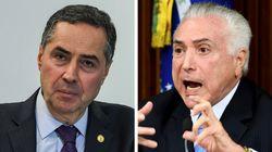 2018 mal começou e Barroso e Temer tiveram 3