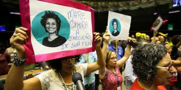 Assassinato da vereadora Marielle Franco (PSol) no Rio de Janeiro provoca comoção no País. Câmara dos...