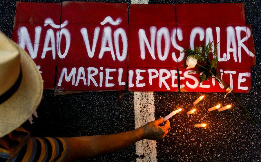 Brasileiros de pelo menos 19 capitais brasileiras foram às ruas em protesto ao assassinato da vereadora...