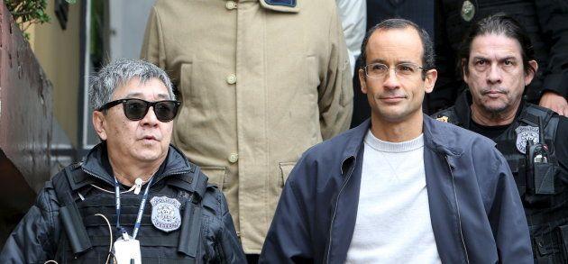 Prisão de Marcelo Odebrecht, em junho de