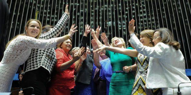 Com barreiras no Congresso, bancada feminina busca garantia no TSE para aplicação de recursos nas campanhas...