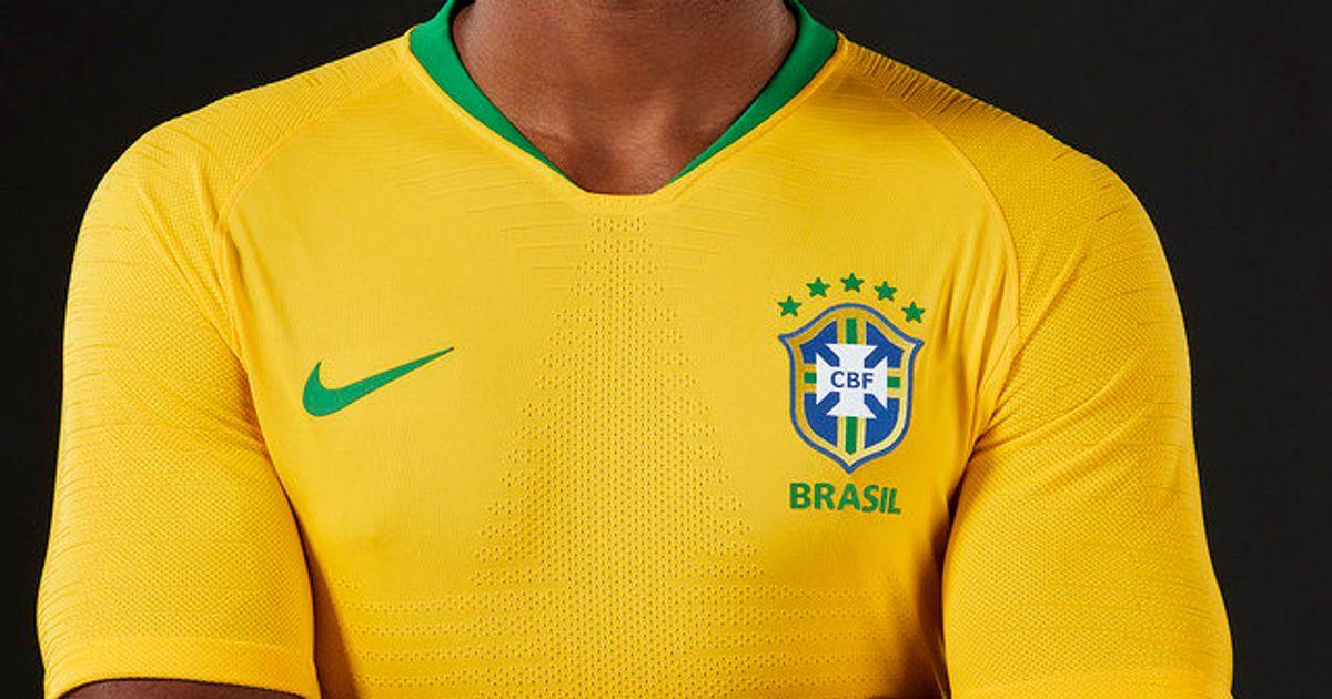 3726dc75b73 Seleção Brasileira estreia camisa da Copa da Rússia em amistoso contra  donos da casa