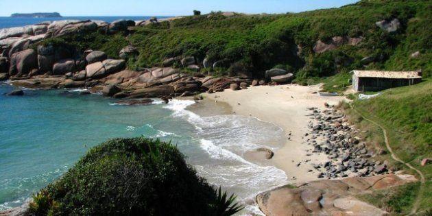 Praia do Gravatá é uma das 5 pouco conhecidas, mas belíssimas de