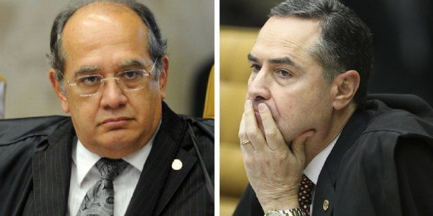 Bate-boca entre ministros Luís Roberto Barroso e Gilmar Mendes, do STF (Supremo Tribunal Federal), levam...