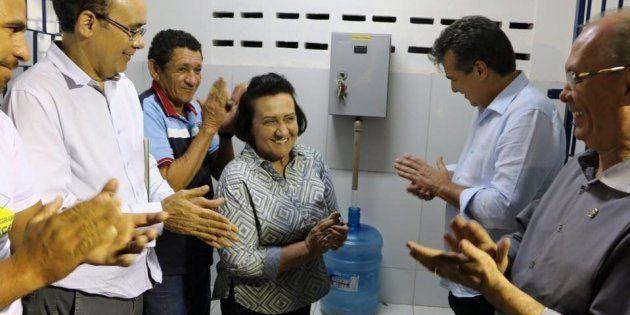 Cada reservatório do Água Doce em Canindé custou aos cofres públicos R$ 144.576,00. Prefeita Maria Rozário...