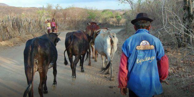 Moradores de Canindé andavam 3 quilômetros para poder ter a água potável, tratada em cacimbas no leito...