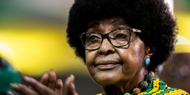 Winnie Madikizela-Mandela foi a segunda esposa de Nelson