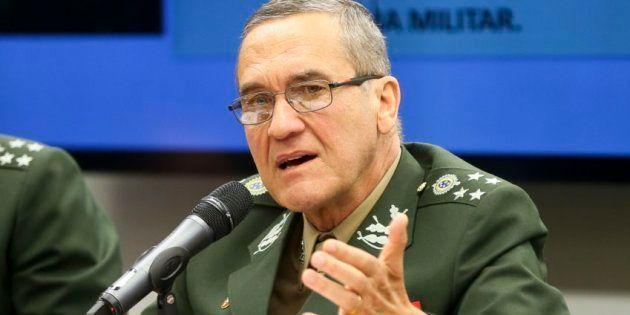 Comandante do Exército, general Villas Boas, afirmou repúdio à impunidade às vésperas do julgamento do...