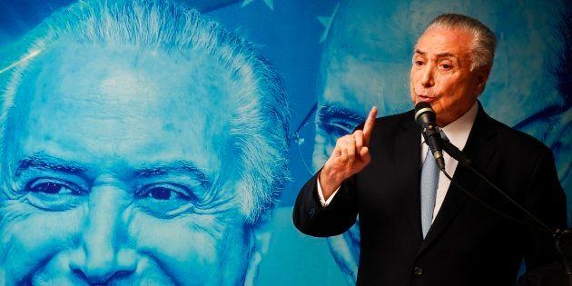 Apesar do discurso de candidato ao Palácio do Planalto, Temer tem apenas 1% das intenções de