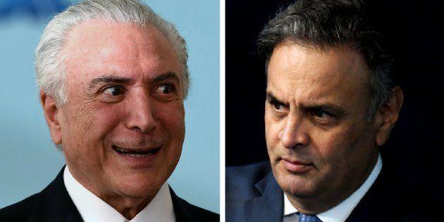Revisão de prisão após condenação em 2ª instância pode salvar presidente Michel Temer e senador Aécio...