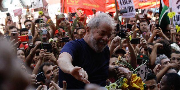 Prisão do ex-presidente Lula pode levar esquerda a unificar