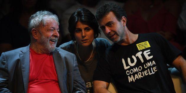 PCdoB e PSol mantêm candidaturas ao Palácio do Planalto, mas demonstram apoio ao ex-presidente Lula,...