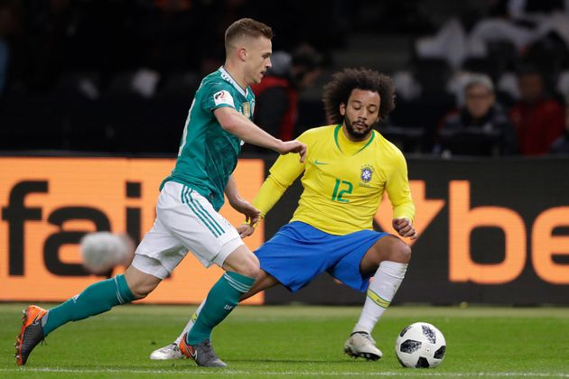 Marcelo tem titularidade inquestionável na lateral esquerda da Seleção