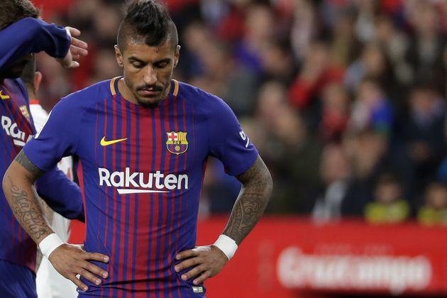 Paulinho saiu do futebol chinês para jogar no Barcelona, cresceu e continuou em alta na Seleção