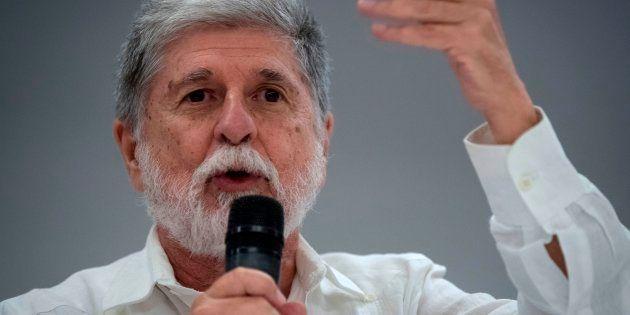 Ex-ministro de Relações Exteriores e da Defesa nos governos petistas, Celso Amorim defende união da esquerda...