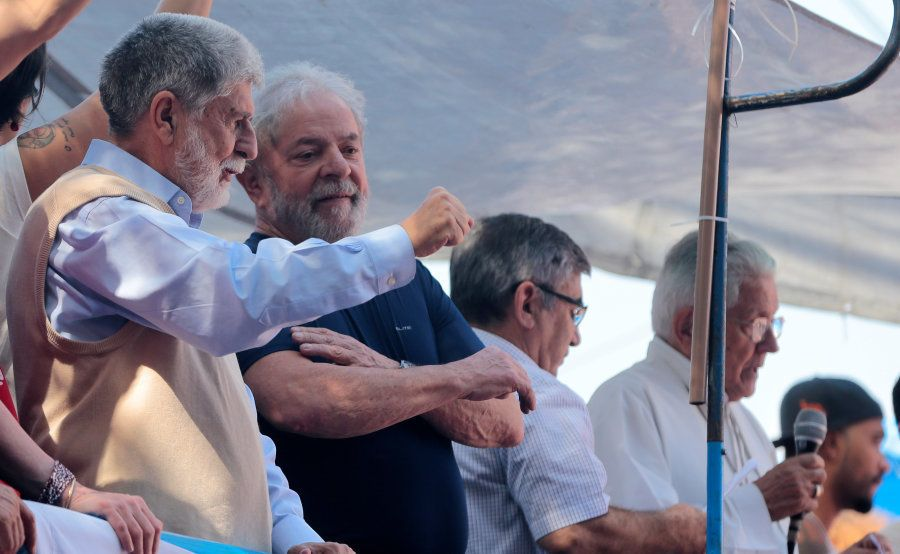 Ex-ministro da Defesa de de Relações Exteriores, Celso Amorim foi um dos nomes citados por Lula em discursos...