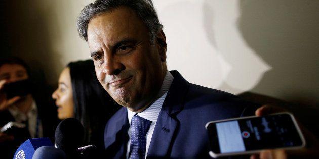 Réu por corrupção e lavagem de dinheiro, Aécio Neves (PSDB-MG) diz que esperava esse resultado e que...