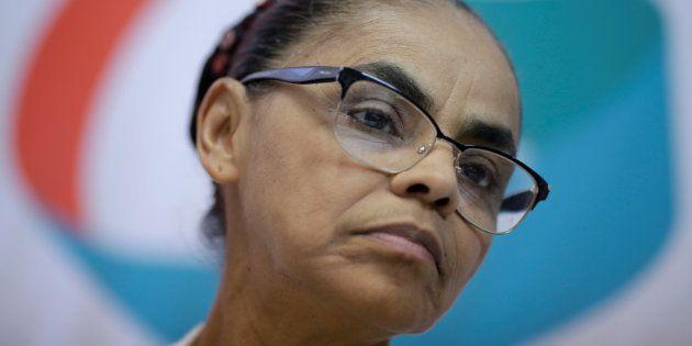 Marina Silva, candidata da Rede, usou Twitter para pedir celeridade no julgamento de