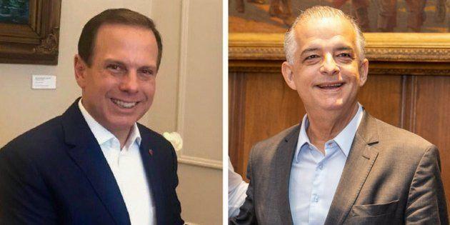 João Doria e Márcio França: ambos são pré-candidatos ao Governo de São