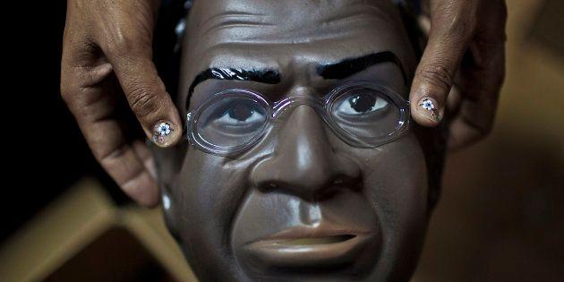 Na época do julgamento do mensalão, rosto do então ministro do STF Joaquim Barbosa chegou a estampar...