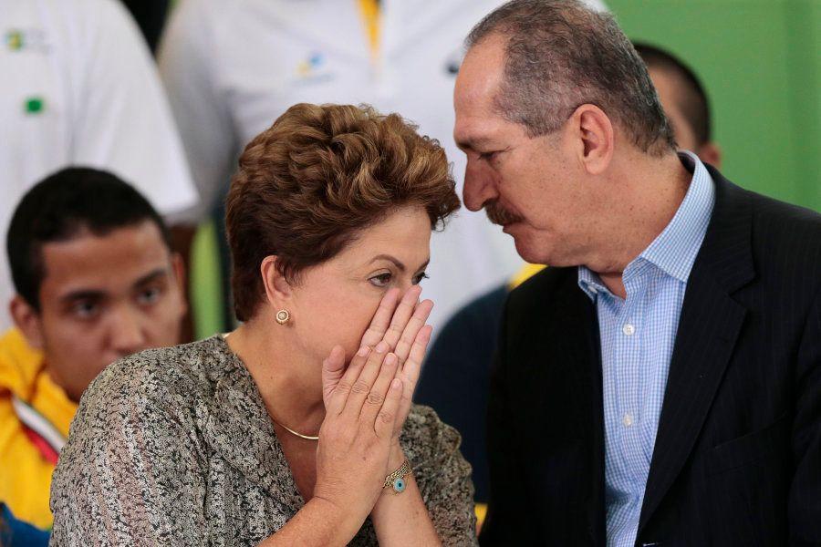 Aldo Rebelo comandou o Ministério dos Esportes no governo de Dilma