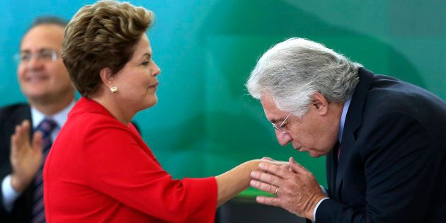 De olho na Presidência da República, Guilherme Afif foi de vice de Geraldo Alckmin a ministro de Dilma