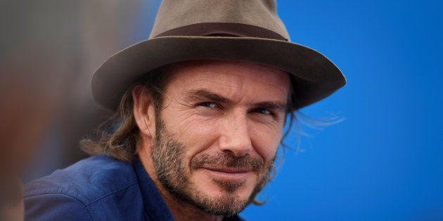 Além de boleiro, David Beckham tornou-se ícone