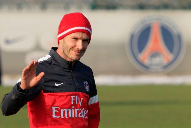 Beckham deu adeus ao futebol após uma temporada defendendo o PSG, da