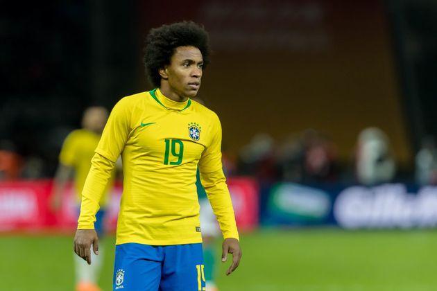 Willian, do Chelsea-ING, é protagonista da equipe quando Neymar não está em