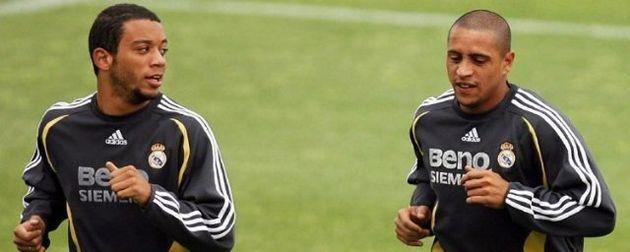 Marcelo chegou ao Real Madrid a tempo de aprender com Roberto