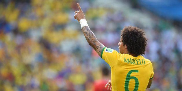 Marcelo é válvula de escape importante para a Seleção quando os craques estão