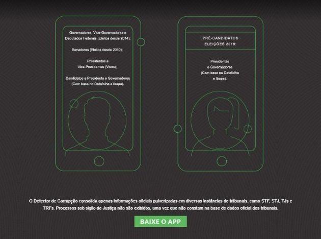 Aplicativo analisa rosto do candidato e acessa banco de dados com informações sobre pendências