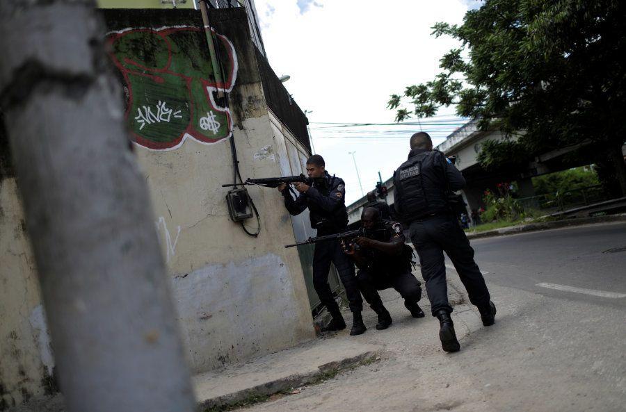 Em fevereiro, o presidente Michel Temer decretou intervenção federal na segurança do Rio de