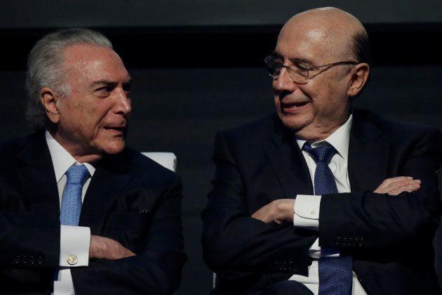 Michel Temer e Henrique Meirelles: os presidenciáveis do
