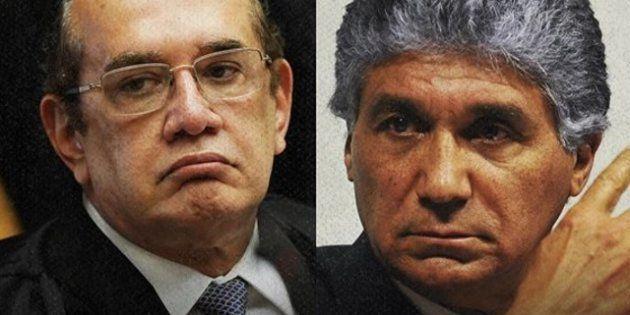 Ministro Gilmar Mendes (à esquerda) mandou soltar Paulo Preto, ligado ao PSDB, por falta de 'argumentos...