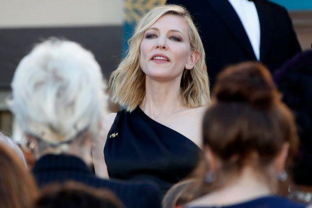 Cate Blanchett, presidente do júri, exigiu que governos apliquem igualdade salarial no mundo do
