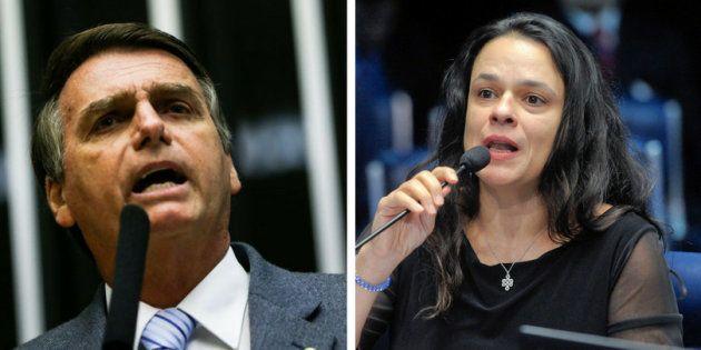 O presidenciável Jair Bolsonaro e a advogada Janaina Paschoal devem conversar nos próximos