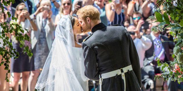 O Duque e a Duquesa de Sussex.