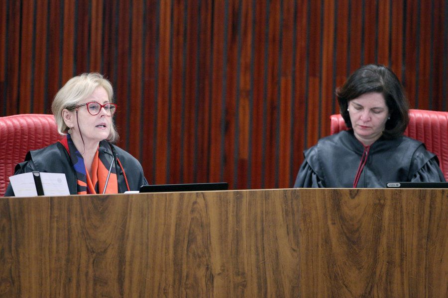 Ministra Rosa Weber e procuradora-geral eleitoral, Raquel Dodge, defendem mínimo de 30% do Fundo Eleitoral...