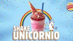 Burger King lança Shake Unicórnio para celebrar a Parada do Orgulho